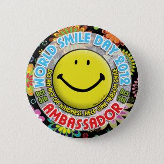 World Smile Day 2012 AMBASSADOR Button