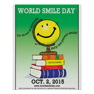 World Smile Day® 2015 Poster