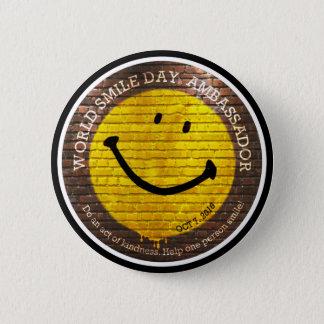 World Smile Day® 2016 Button