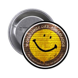World Smile Day® Ambassador 2016 Button
