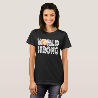 World Strong Orange T-Shirt