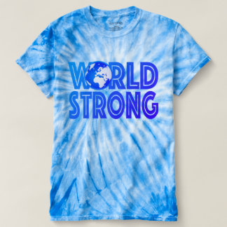 World Strong Tie-Dye T-Shirt