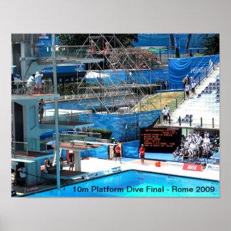WORLD SWIMMING CHAMPIONSHIP 2009 POSTER