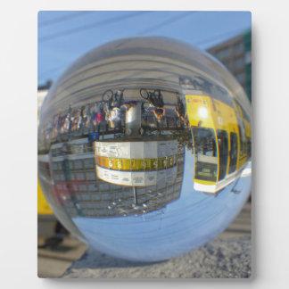 World Time Clock, Alex, Berlin, crystal ball Plaque