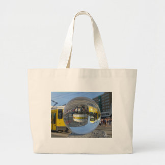 World Time Clock, Alex, Berlin, crystal ball Tote Bags