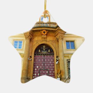 """World top modern art photographer anisia akagi "" Ceramic Star Decoration"