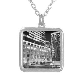 world top modern artist akagi tokyo office silver plated necklace
