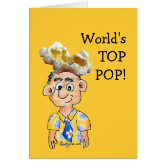 World Top Pop -Fathers Day Card