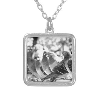 world top universal modern art 2016 silver plated necklace