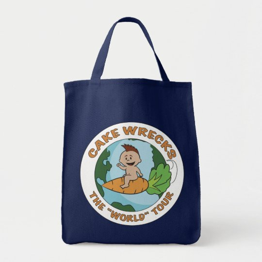 """""""World"""" Tour Grocery Tote"""
