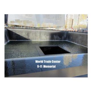 World Trade Center, 9/11 Memorial Postcard
