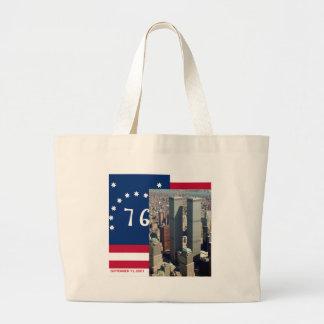 World Trade Center Complex Lower Manhattan 8/2001 Jumbo Tote Bag