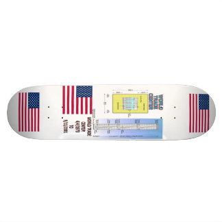 World Trade Center Floor Plan 9/11 Skateboard