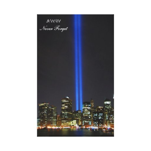 World Trade Center NYC 9/11/01 - Wrapped Canvas Gallery Wrapped Canvas