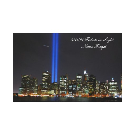 World Trade Center NYC - Wrapped Canvas. Stretched Canvas Prints