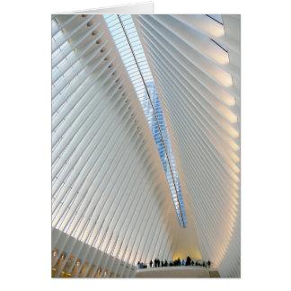 World Trade Center Transportation Hub, NY Card