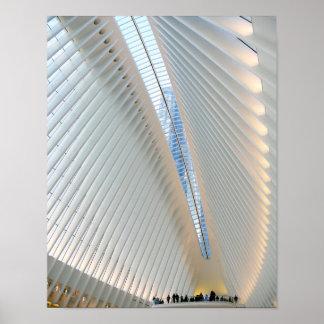 World Trade Center Transportation Hub, NY Poster