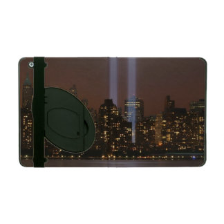World trade center tribute in light in New York. Case For iPad