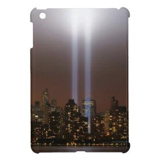 World trade center tribute in light in New York. Case For The iPad Mini