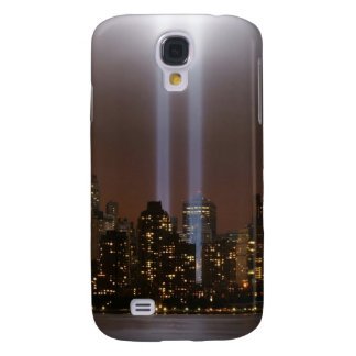 World trade center tribute in light in New York. Galaxy S4 Case