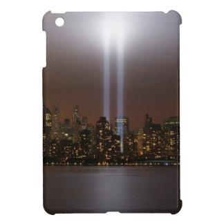 World trade center tribute in light in New York. iPad Mini Covers