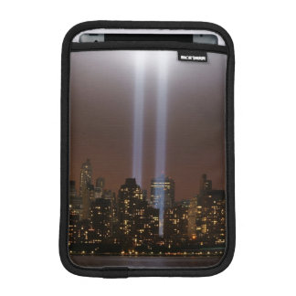 World trade center tribute in light in New York. iPad Mini Sleeve