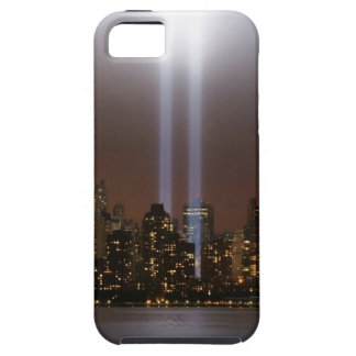World trade center tribute in light in New York. iPhone 5 Covers