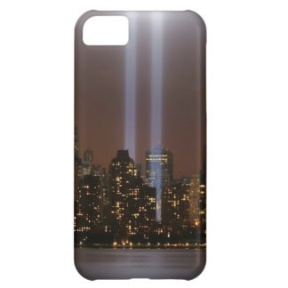 World trade center tribute in light in New York. iPhone 5C Case