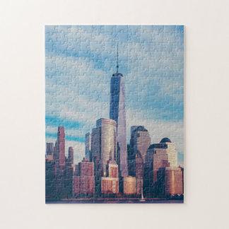 World Trade Centre New York. Jigsaw Puzzle