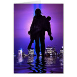 World Trade Centre Tribute in Light Greeting Card