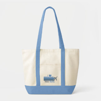 World Travel bag, choose style & customize Tote Bag