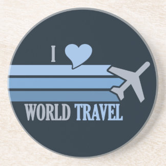 World Travel coaster, customizable Coaster