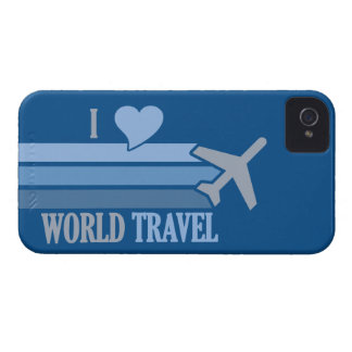 World Travel custom Blackberry Bold case