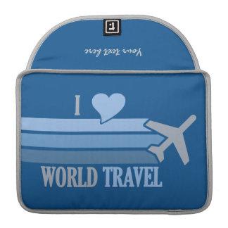 World Travel MacBook sleeve