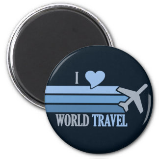 World Travel magnet