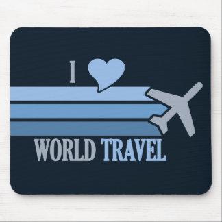 World Travel mousepad, customizable Mouse Mat