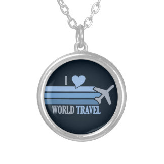 World Travel necklace