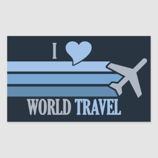 World Travel stickers
