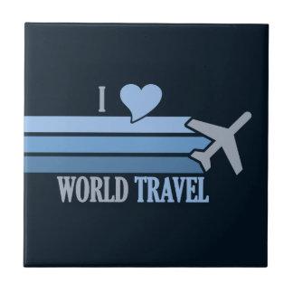 World Travel tile, customizable Tile