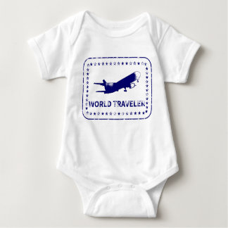 World Traveler Baby Bodysuit