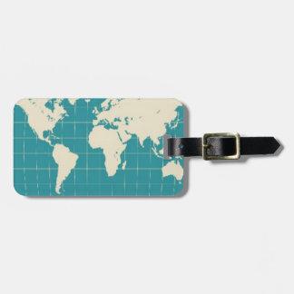 World Traveler Bag Tag