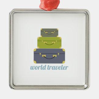 World Traveler Christmas Ornament