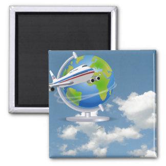 World Traveler Magnets