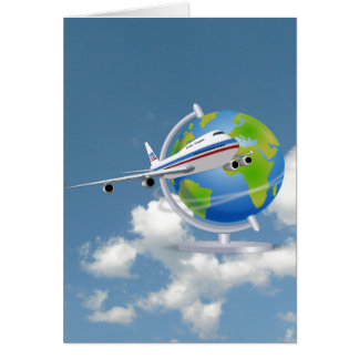 World Traveler Note Card