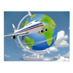 World Traveler Post Card
