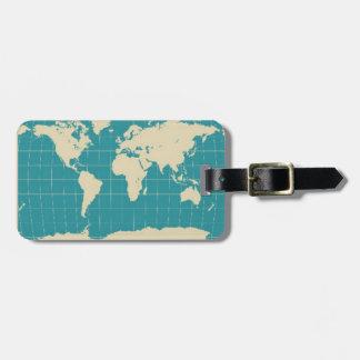 World Traveler Travel Bag Tag