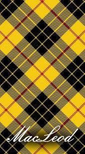 World Traveller Clan MacLeod Of Lewis Tartan Plaid Passport Holder