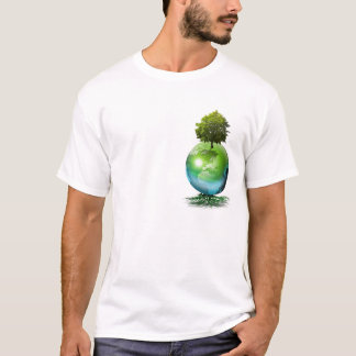 World tree -  ecology concept T-Shirt