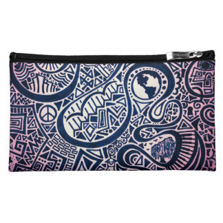 World Trip Cosmetic Bag