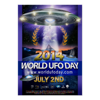 World UFO Day 2014 Poster